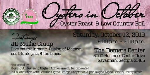 Oysters in October: Oyster Roast & Low Country Boil