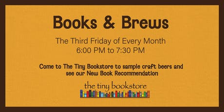 Books and Brews: Craft Beer and Book Pairing tickets