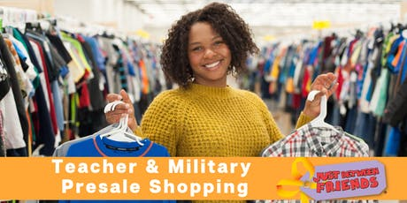 JBF Houston South Fall 2019 Consignment Sale: Military & Teacher Presale tickets
