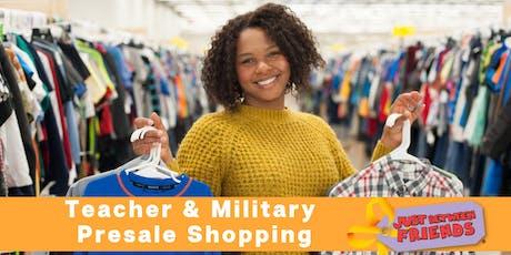 JBF Houston South Fall 2019 Consignment Sale: Military & Teacher Presale tickets