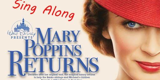 Film: Mary Poppins Returns (2018) inc. Singalong subtitles.  Cert. U Comedy