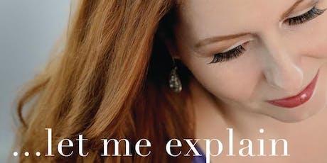 Let Me Explain: Christina Raphaelle Haldane  tickets