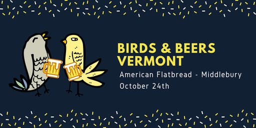 Birds & Beers Vermont - October