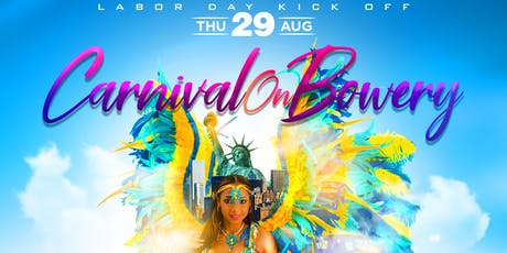 Carnival On Bowery | Complimentary Hennessy + No Cover tickets