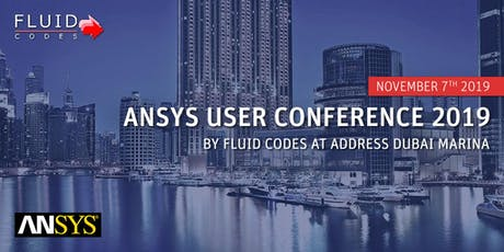 ANSYS User Conference 2019 by Fluid Codes tickets
