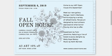Fall Open House ~ Art Now Wine Later tickets