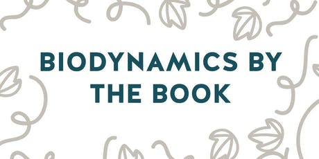 Biodynamics by the Book tickets