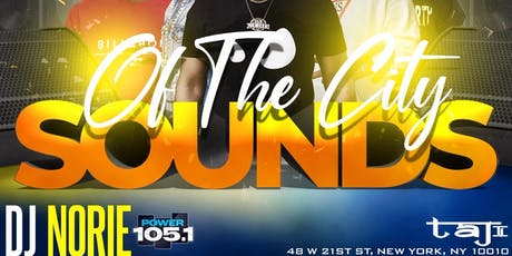 Sounds of The City   Open Bar + Free Entry  tickets