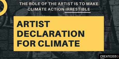 Pop Up Event:  Artist Declaration for Climate Week NYC tickets