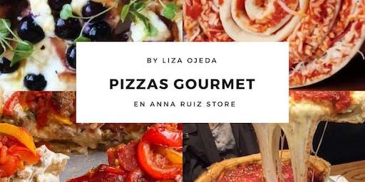 Pizzas Gourmet con la Chef Liza Ojeda en Anna Ruíz Store