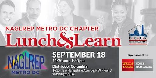 NAGLREP Metro DC Lunch & Learn September 18