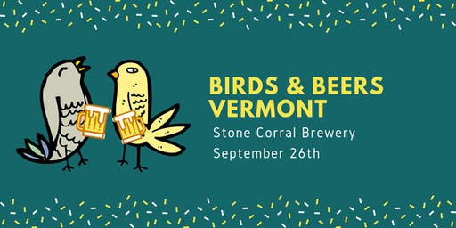 Birds & Beers Vermont - September