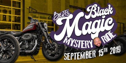 Bert's Black Magic September Mystery Ride