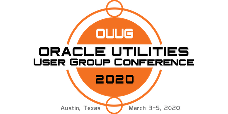 2020 Oracle Utilities Meter Data Management (MDM) Users Group Conference tickets
