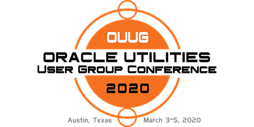 2020 Oracle Utilities Meter Data Management (MDM) Users Group Conference