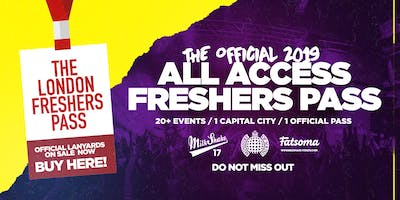 The Official All Access Freshers Pass - London 2019