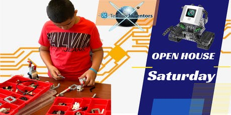 """""""FREE"""" Workshop & Open House (Robotic, Video Game Design & S.T.E.M) tickets"""