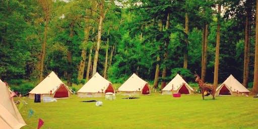 Medicine Ambassadors Event Boutique Bell Tents