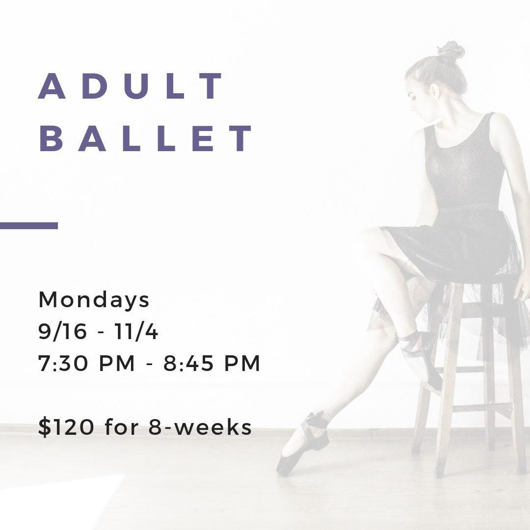 Adult Ballet 8-week Session