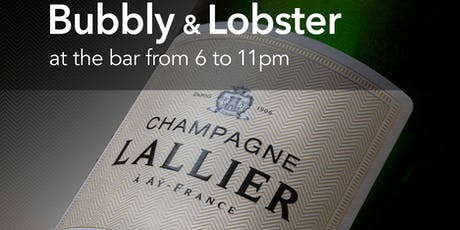 Bubbly & Lobster tickets