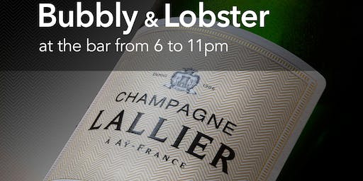 Bubbly & Lobster