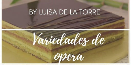 Variedad de Opera con la Chef Luisa de la Torre en Anna Ruíz Store