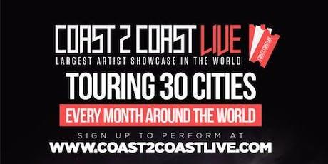 Coast 2 Coast LIVE Artist Showcase Paris,FR - $50K Grand Prize billets