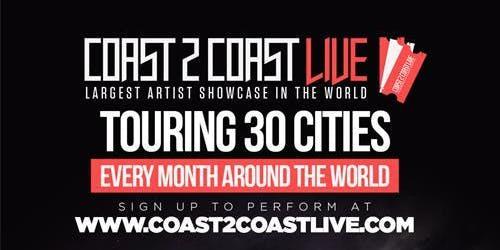 Coast 2 Coast LIVE Artist Showcase Paris,FR - $50K Grand Prize