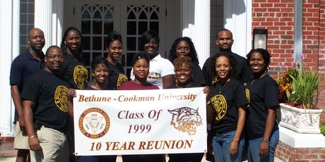 BETHUNE-COOKMAN UNIVERSITY CLASS OF 1999 -   20 YEAR CLASS REUNION tickets