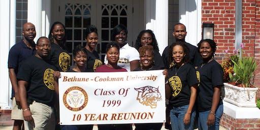 BETHUNE-COOKMAN UNIVERSITY CLASS OF 1999 -   20 YEAR CLASS REUNION