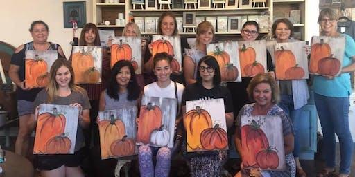 Pumpkin Pallet Painting Class