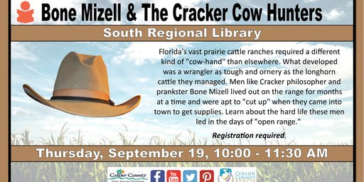 Bone Mizell & The Cracker Cow Hunters at South Regional Library