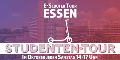 E-Scooter Studenten-Tour Essen