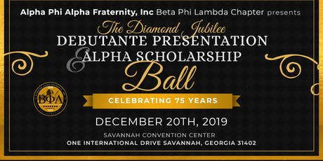 The Diamond Jubilee Debutante Presentation & Alpha Scholarship Ball tickets