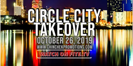 """Chin Chek Promotions Presents Circle City Takeover featuring Undefeated Flyweight Saleto """"Mr. Personal"""" Henderson tickets"""