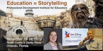 Education = Storytelling