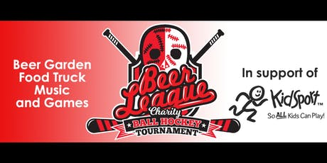 Ball Hockey And Beer Garden @ The BREWERY tickets