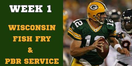 Packers vs Bears Fish Fry tickets