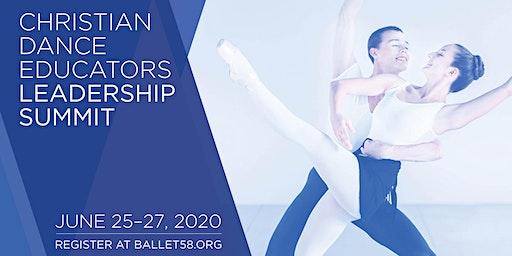 Christian Dance Educators Leadership Summit