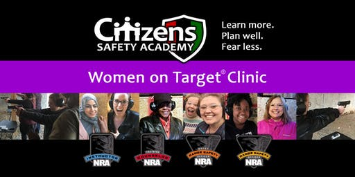 Women on Target Shooting Clinic