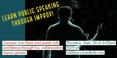 Learn Public Speaking Through Improv! tickets