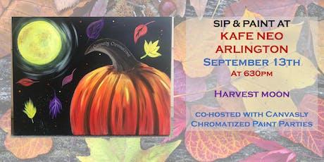 Harvest Moon Paint & Sip @ Kafe Neo tickets