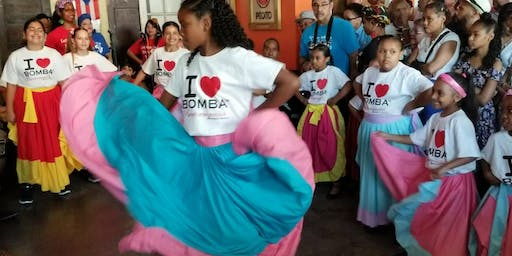 FREE BOMBAZO CHILDRENS BOMBA DANCE & DRUM CLASS