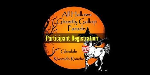 All Hallows Ghostly Gallop Parade & Festival - Parade & Vendor Registration