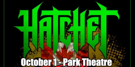 Hatchet tickets