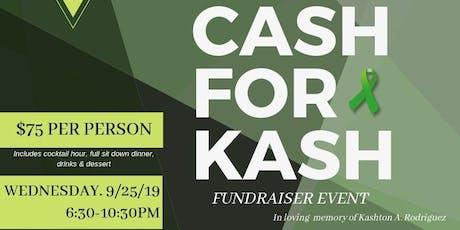 Cash For Kash Gala tickets