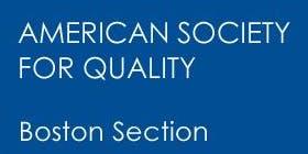 ASQ Boston November 18 Meeting