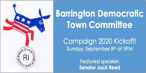 Barrington Democratic Town Committee Campaign 2020 Kickoff!