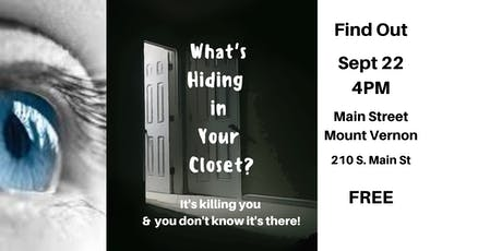 What's Hiding in Your Closet? tickets