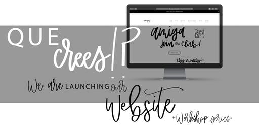 Amigas Social Club - Website Launch